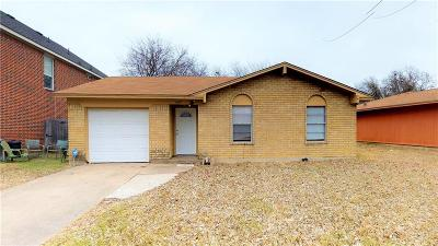 Grand Prairie Single Family Home Active Option Contract: 1610 Bogarte Drive