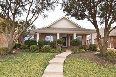 Allen Single Family Home Active Option Contract: 1405 Hansberry Drive