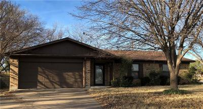Stephenville Single Family Home Active Option Contract: 2601 Phelps Street