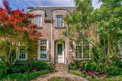 Dallas, Fort Worth Single Family Home For Sale: 7980 Caruth Court