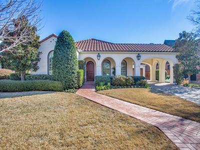 Fort Worth Single Family Home For Sale: 2729 River Forest Drive