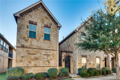 McKinney Townhouse For Sale: 8613 Pilar Way
