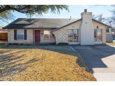 Single Family Home For Sale: 11306 Quail Run Street