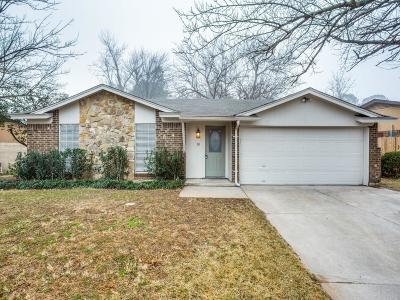Mansfield Single Family Home Active Option Contract: 811 Hummingbird Lane