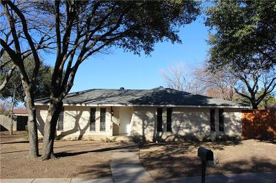 Grand Prairie Single Family Home Active Option Contract: 2137 Huntington Drive