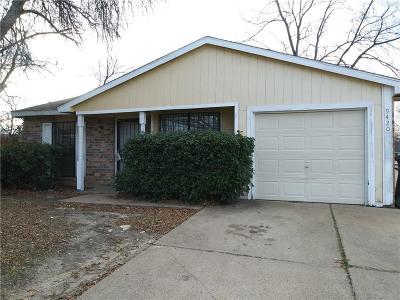 Dallas Single Family Home For Sale: 9420 Culberson Street