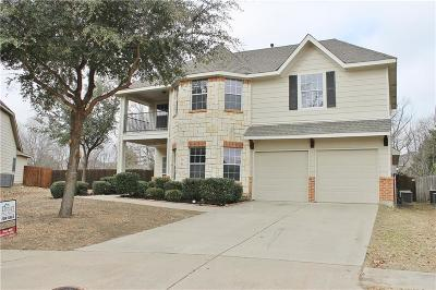 McKinney Single Family Home Active Option Contract: 9768 Water Tree Drive