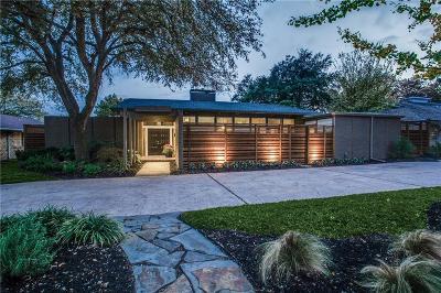 Dallas Single Family Home For Sale: 7358 Fieldgate Drive