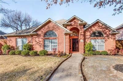 Carrollton Single Family Home Active Option Contract: 2633 Mossvine Drive
