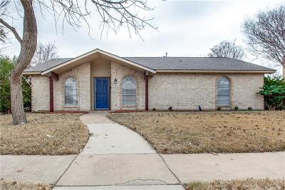 Garland Single Family Home Active Option Contract: 3026 Flagstone Drive