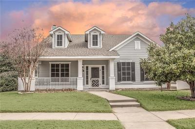 Providence Village Single Family Home Active Option Contract: 1054 Elm Drive