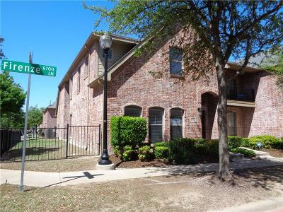 Frisco Townhouse For Sale: 6708 Firenze Ln