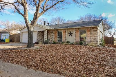 Grand Prairie Single Family Home Active Option Contract: 1137 Santa Fe Trail