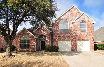 Mckinney Single Family Home Active Option Contract: 8704 Falcon Crest Drive