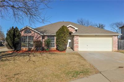 Arlington Single Family Home Active Option Contract: 2105 E Greenspoint Court