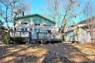 Weatherford TX Single Family Home Active Contingent: $259,900
