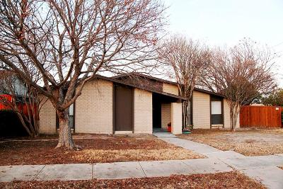 The Colony Single Family Home Active Option Contract: 5276 Sherman Drive