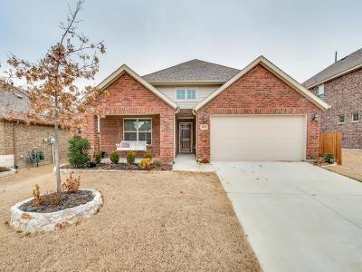 Little Elm Single Family Home Active Option Contract: 1013 Lavender Drive