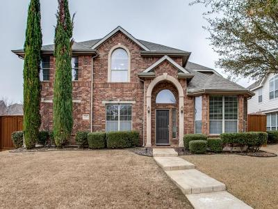 Plano Single Family Home Active Option Contract: 4317 Orchard Gate Drive