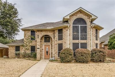 Coppell Single Family Home Active Option Contract: 318 Still Forest Drive