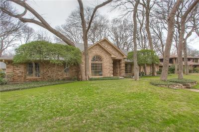 Fort Worth Single Family Home Active Option Contract: 4825 Overton Woods Drive