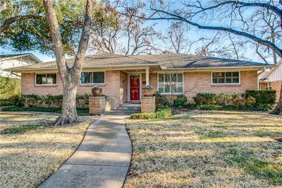 Dallas Single Family Home For Sale: 7036 Arboreal Drive