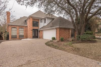 Addison Single Family Home Active Contingent: 14966 Trafalgar Court