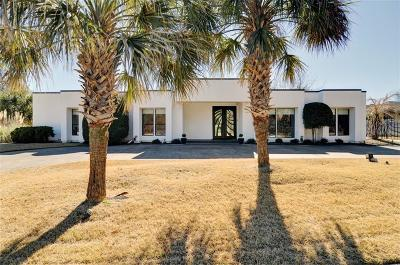 Mira Vista, Mira Vista Add, Trinity Heights, Meadows West, Meadows West Add, Bellaire Park, Bellaire Park North Single Family Home Active Option Contract: 6801 River Bend Road