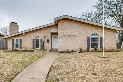 Garland Single Family Home Active Option Contract: 3134 Flagstone Drive