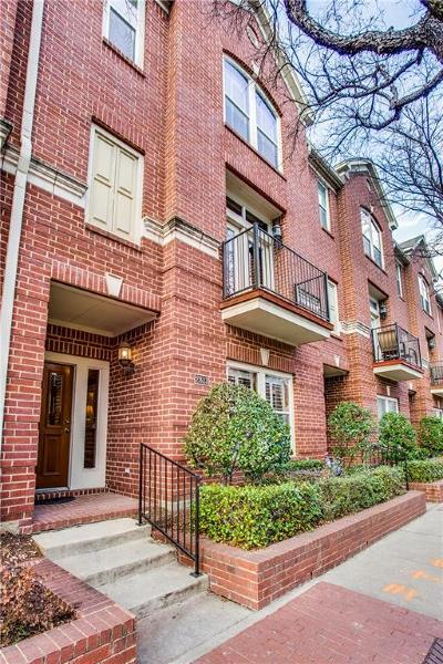 Dallas Townhouse For Sale: 2813 State Street
