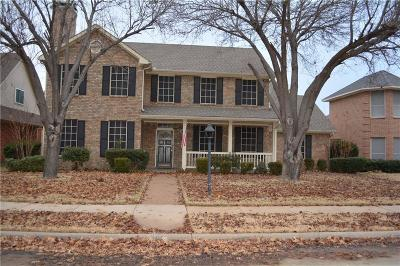 Coppell Single Family Home Active Option Contract: 341 Clear Haven Drive