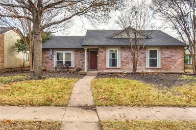 The Colony Single Family Home For Sale: 5724 Baker Drive