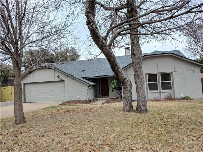 Benbrook Single Family Home Active Option Contract: 1321 Blanco Court