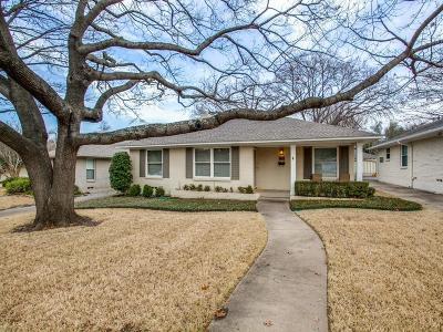 Dallas Single Family Home For Sale: 6207 Monticello Avenue