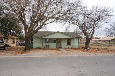 Stephenville TX Single Family Home For Sale: $49,000