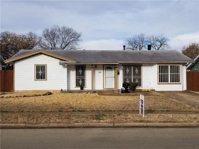 Euless Single Family Home Active Option Contract: 607 Milam Drive