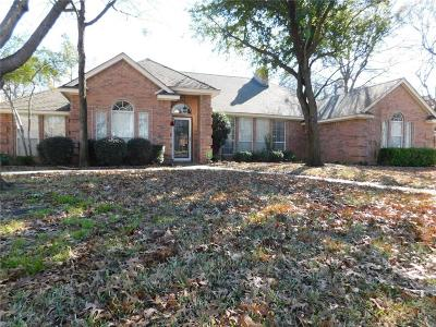 Fort Worth Single Family Home For Sale: 8716 Racquet Club Drive