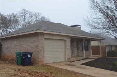 Denton Single Family Home For Sale: 1505 May Street