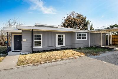 Fort Worth Single Family Home For Sale: 3813 Lafayette Avenue