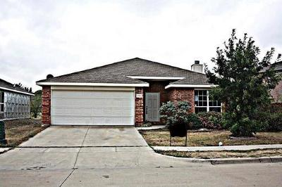 Denton Single Family Home Active Option Contract: 216 Tripp Trail