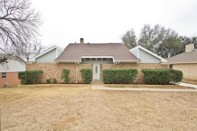 Irving Single Family Home Active Option Contract: 2358 Hill N Dale Drive