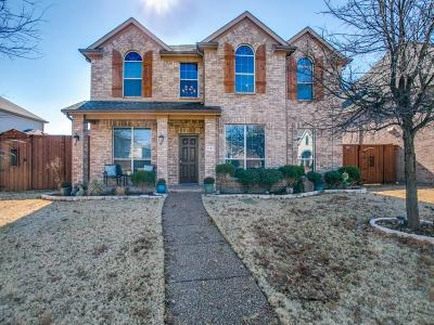 Frisco Single Family Home Active Option Contract: 1131 Marquette Drive