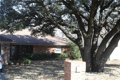 Stephenville Single Family Home For Sale: 1809 N Cypress Avenue