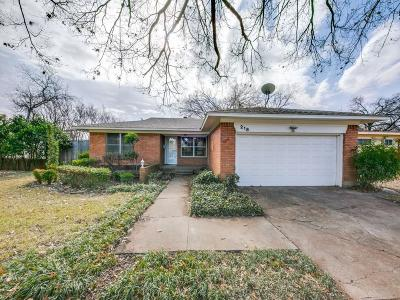 Duncanville Single Family Home For Sale: 218 Harman Street
