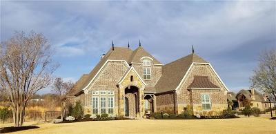 Aledo Single Family Home Active Option Contract: 117 The Lakes Drive
