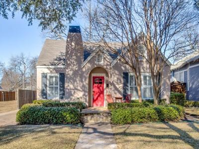 Dallas Single Family Home For Sale: 5551 Richard Avenue