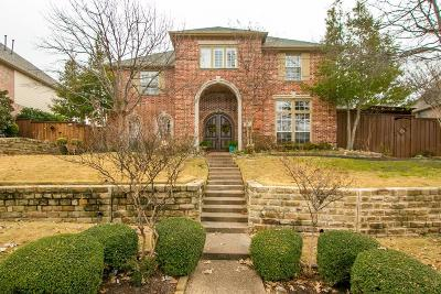Lewisville Single Family Home Active Option Contract: 1205 Sir Malory Lane