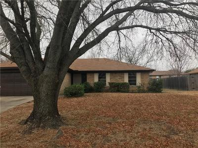 North Richland Hills Single Family Home Active Option Contract: 7025 Windhaven Road