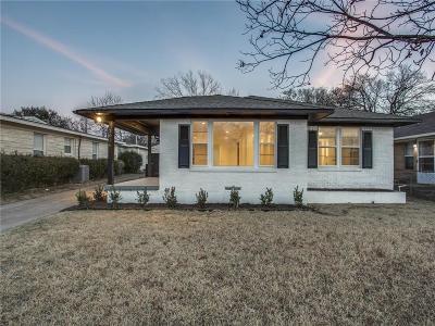 Dallas Single Family Home For Sale: 2026 Ferndale Avenue