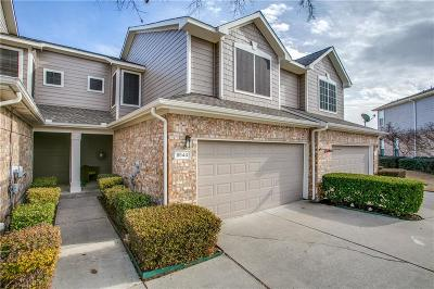 Plano Townhouse Active Option Contract: 9840 Cambria Court